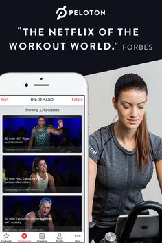 Join daily live studio classes or choose from 4,000+ on-demand rides on the Peloton app