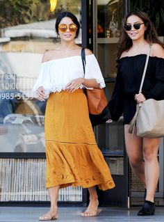 Vanessa Hudgens Perfects Boho-Chic Styling on the Streets of L.A. from InStyle.com