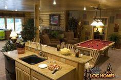 Lakehouse 3352AL - Lower Level Entertaining Area - View 5