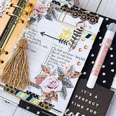 Bullet Journal Cover Ideas, Bullet Journal Mood, Bullet Journal Inspiration, Prima Planner, Life Planner, Happy Planner, Planner Layout, Planner Ideas, Planner Decorating