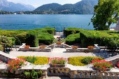 Villa Carlotta - Lake Como - Italy - La villa Carlotta : une maison sublime, une vue magnifique, un jardin somptueux.