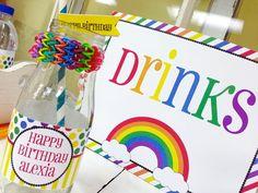 Rainbow loom party! With Lots of Fun Ideas! Via Kara's Party Ideas KarasPartyIdeas.com #rainbowparty #loomparty #rainbowloomparty (12)