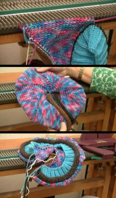 "How to make this ""Tam"" (Beret) using your Ultimate Sweater Machine - Part 2 of 2 (video)"
