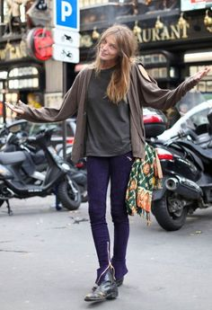 Casual look- Daria Werbowy