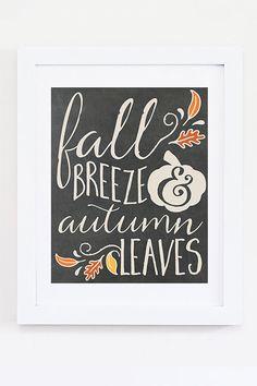 Fall Breeze Autumn Leaves