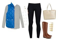 """""""Sample set for theprepsquad!"""" by graciegerhart7 ❤ liked on Polyvore featuring moda, lululemon, Tory Burch, Kendra Scott, Kate Spade y J.Crew"""
