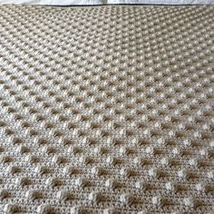 Bobble #crochet blanket share More