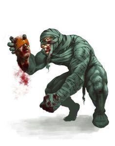 육식무무 Amumu, the angry mummy