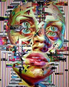 Justin Bower http://www.widewalls.ch/artist/justin-bower/