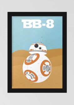 Poster BB8 - Star Wars PI8980