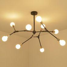 LOFT Industrial Pendant Chandeliers Lights simpe Modern Minimalist Design Chandelier Hanging in Living Room/Restaurant E27 Lamps(China)
