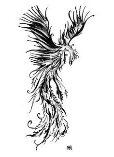 tribal phoenix tattoo - Google Search