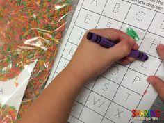 Use this recording sheet for the sensory idea.