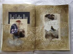 caterinagiglio: February Art Journal Pages