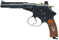 Rare Swiss Manufacture Steyr/Mannlicher Model 1894 Prototype Semi-Automatic Pistol Serial Number 15