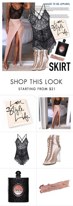 """MADE TO BE APPAREL"" by gaby-mil ❤ liked on Polyvore featuring Yves Saint Laurent, By Terry, shop and madetobeapparel"