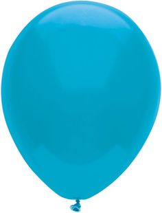 "Island Blue 12"" Latex Balloon - 15ct"