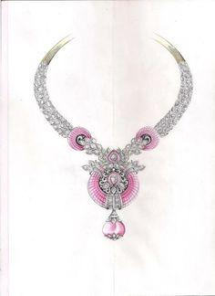 Van cleef & Arpels. necklace sketch...♡