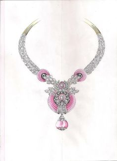 Van cleef & Arpels. necklace sketch...♡