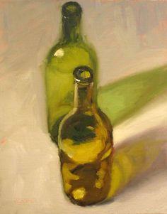 two bottles - Dan Graziano www.dangrazianofineart.com