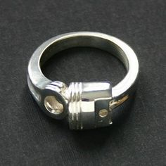 Big Block Piston Ring – Hotrod Rocks hotrod style wedding band