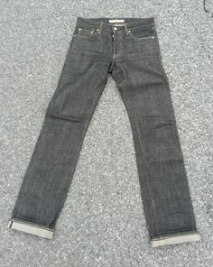 Uniqlo Selvedge Slim Fit Straight Leg Raw Denim Jeans, Made in Japan 32x34.5 in Clothing, Shoes & Accessories | eBay