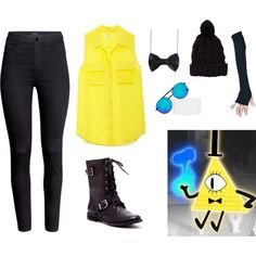 Gravity Falls Bill Cipher inspired outfit