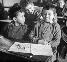 Robert Doisneau // L'Irréparable gachis - Paris ca. 1956 http://www.gettyimages.co.uk/detail/news-photo/schoolboy-news-photo/121507565