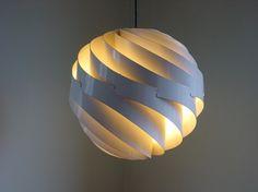 Vintage Louis Weisdorf Turbo lamp 1965 by Lyfa Ballerup Denmark.