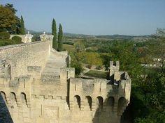 Vue depuis le château d'Ansouis