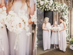 A Galia Lahav gown for glamorous Summer wedding at Durham Cathedral. Photography by Katy Melling.