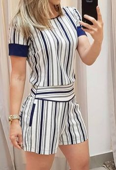 African Print Fashion, Alexander Wang, Jumpsuits, Ideias Fashion, Fashion Dresses, Rompers, Womens Fashion, How To Wear, Clothes
