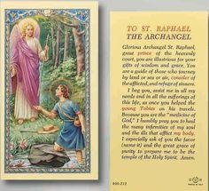 archangel raphael prayer - Google Search