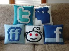 Cosy cushions for when your being social!
