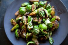 Love my Brussels sprouts--can't wait to try it with black bean sauce. Mmm.