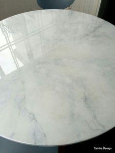 Diy marmoripöytä maalaamalla http://muotoseuraafunktiota.blogspot.fi/2016/03/faux-marble-diy-maalaa-itsellesi.html?m=1