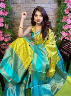 Details about  /Baby Blue Full Body Woven Water Drop Design Cotton Handloom Saree With Unstitche