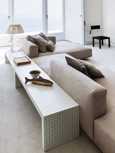Sectional sofa PIANOALTO by Zanotta design Ludovica Roberto Palomba
