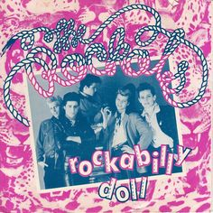 The Rockats Rockabilly Doll