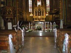 Svatební květiny | Výzdoba svatebních prostor | Svatební dekorace - mašle | Květiny online, prodej a rozvoz květin
