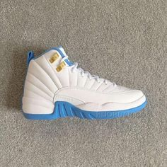 dc16a8a26857 Air Jordan 12 Retro GG (gs) MELO University Blue