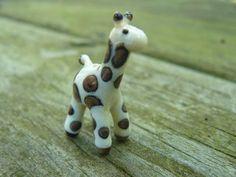 Giraffe Bead - by Kari