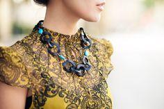 Sketch Work :: Tulip skirt & Link necklace : Wendy's Lookbook
