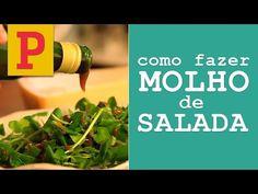 Como fazer molho de salada