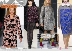 FASHION VIGNETTE: TRENDS // 5FORECASTORE - PRINT AND PATTERN MEGATRENDS . F/W…