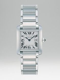 Cartier Tank Watch.  Tell my husband to buy this for me.