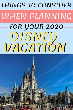 Things to consider if planning a Disney World trip right now