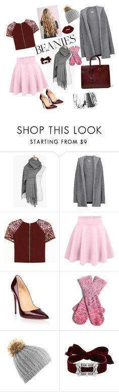 """""""warm autumn❄🌞"""" by anastaslepchenko ❤ liked on Polyvore featuring Chinti and Parker, SOREL, Christian Louboutin, NIC+ZOE, Fallon and Yves Saint Laurent"""