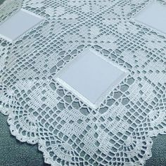 This Pin Was Discovered By Ter - Diy Crafts - maallure Crochet Bolero Pattern, Crochet Bedspread Pattern, Crochet Borders, Crochet Motif, Crochet Doilies, Hand Crochet, Crochet Flowers, Crochet Lace, Easter Crochet Patterns