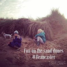 Brancaster beach is a great place for the kids to run around on. #sanddunes Only 15 mins from our camp. @tribenorfolk
